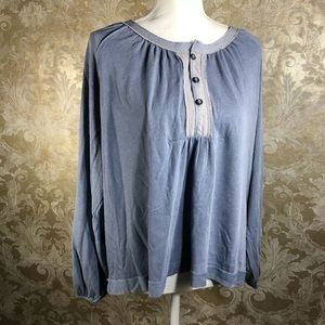 Free People Long Sleeve Blouse New